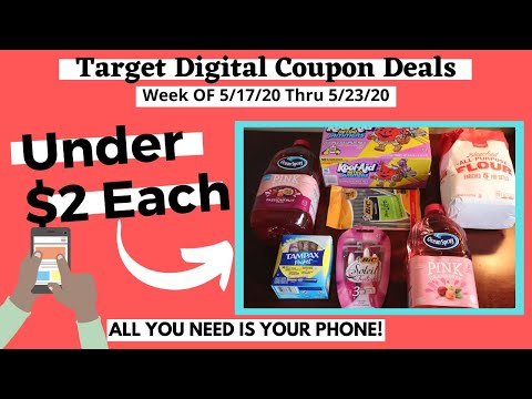 TARGET COUPON DEALS | ALL DIGITAL DEALS That YOU Can Do RIGHT NOW| All YOU Need Is YOUR CELL PHONE|
