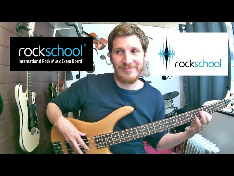Happy Rockschool Grade 3 Bass