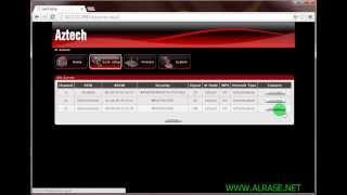 شرح إعدادات مقوي الشبكة Aztech WL556E Wireless N