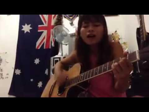 Taksu - Ocha ( Cover By Elina Dewi Acoustic Guitar )