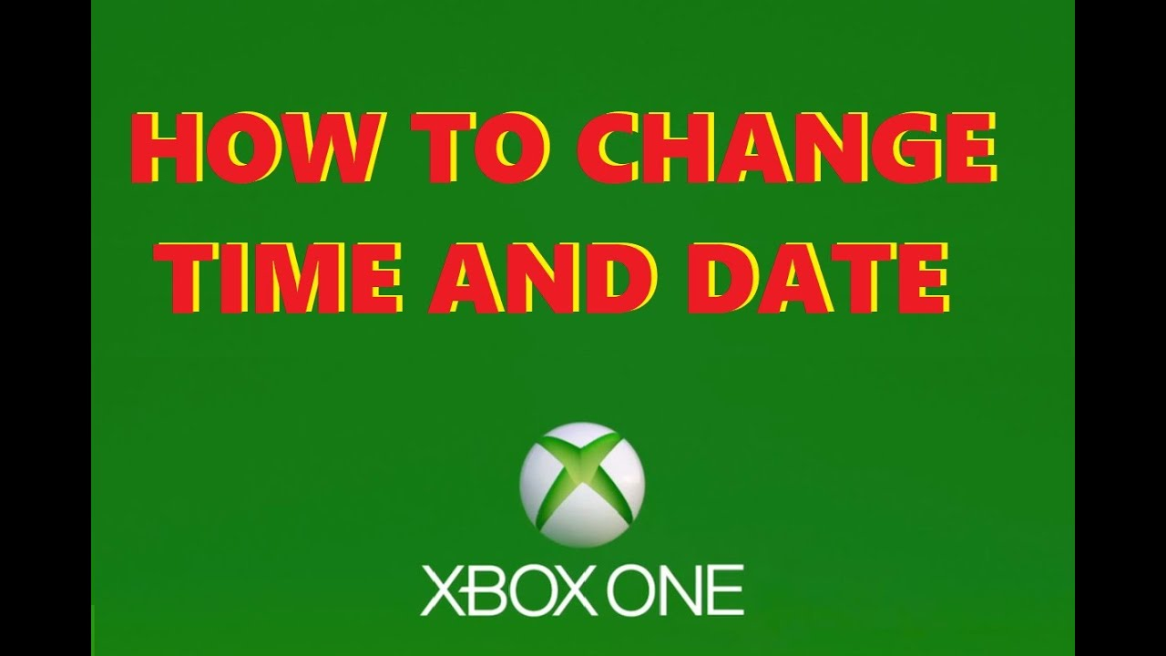 How To Change Time and Date on Xbox One (2020 updated