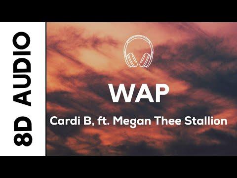 Cardi B – WAP (8D AUDIO) feat. Megan Thee Stallion