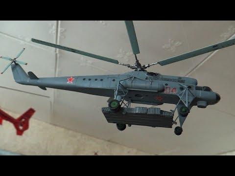 видео: Сборные модели вертолетов