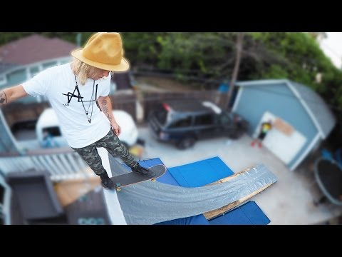 Thumbnail: Duct Tape Vert Ramp!! (HACKED DURING LIVE STREAM!)