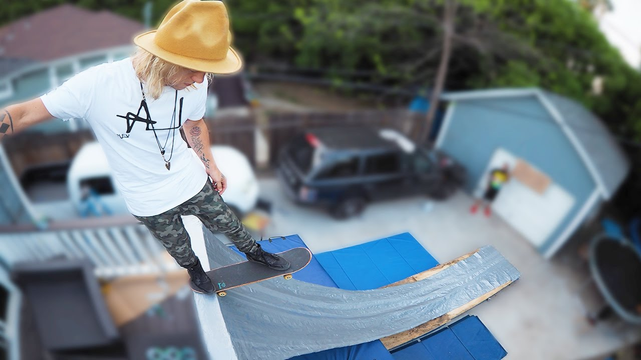 e2c735ccdff0a4 Duct Tape Vert Ramp!! (HACKED DURING LIVE STREAM!) - YouTube