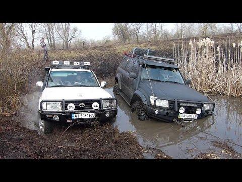 Toyota Land Cruiser 100 A/T 33 vs Toyota Land Cruiser 100 M/T 37 OFFROAD 4X4