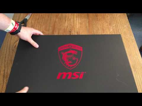 MSI GS60 Gaming Notebook Unboxing