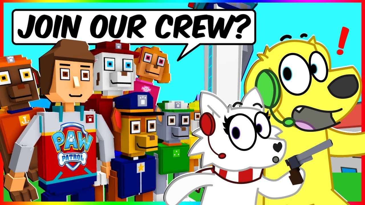 Download JOINING PAW PATROL! Roblox KITTY CHAPTER 12 (ft. Snowi Fox)