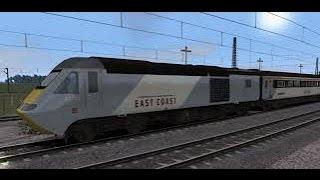Class 43 HST York through Northallerton - Train Simulator 2015.