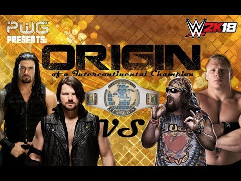 PWG: [2/11/18] ORIGIN   IC Championship Elimination Match   Reigns vs Lesnar vs Love vs Styles