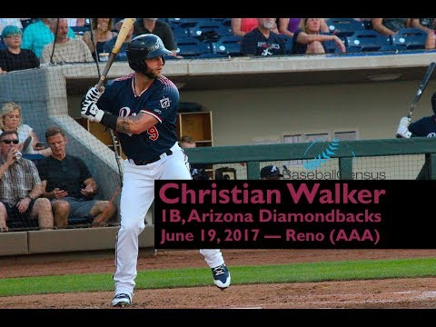Christian Walker, 1B, Arizona Diamondbacks — June 19, 2017