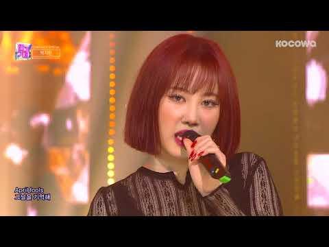 Park ji Min - April Fools(0401) [Inkigayo Ep 973]
