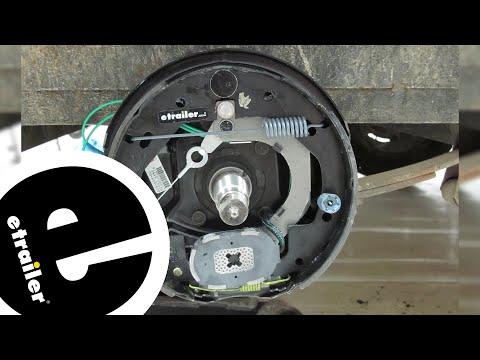 Dexter Nev-R-Adjust Electric Trailer Brake Kit Installation - etrailer.com