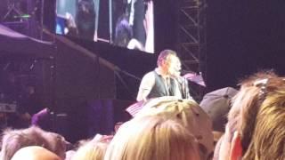 Bruce Springsteen Glory Days AMI Stadium Christchurch NZ 2017