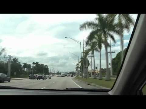 Driving And Talking About Miami Florida
