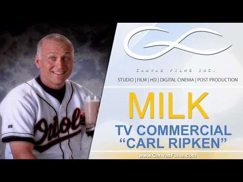 Cal Ripkin - Milk | South Florida Broadcast Commercial Produciton Company
