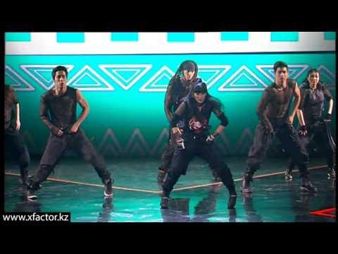 Танец от хореографа Алены Ким. X Factor Казахстан. 7 концерт. Эпизод 16. Сезон 6.