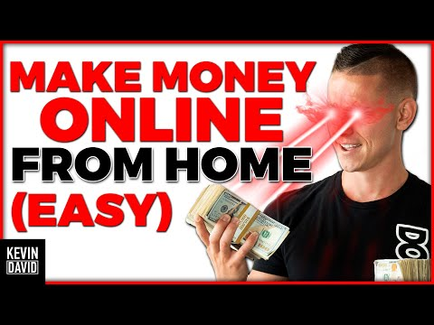 Kevin David - How to Make $5,000 per Month Working from Home! (EASY)