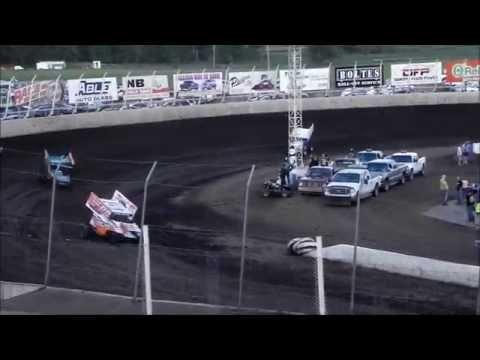 360 Sprint Heat 1 - Husets Speedway 8-24-14