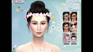Pack de Acessorios Makes e Skins para The Sims 4