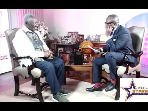 Bola ray interviews President Kuffour on Starrchat