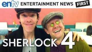 SHERLOCK Season 4 : Benedict Cumberbatch Confirms Series 4 with Martin Freeman - ENTV