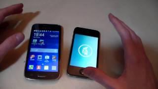 видео Что лучше айфон 4, 4s или самсунг галакси