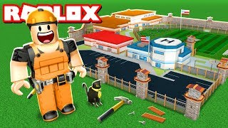 MAKING MY OWN ROBLOX JAILBREAK GAME