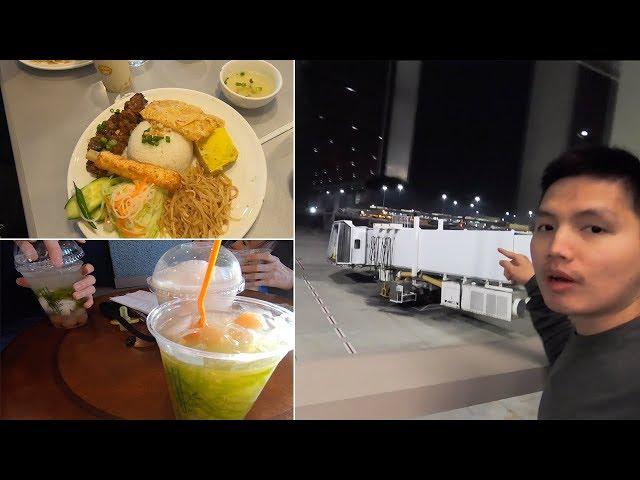 Cơm Tấm, Bánh Mì và Chè ở Mỹ có gì khác Việt Nam | Sân bay Sacramento California QUÁ ĐÃ