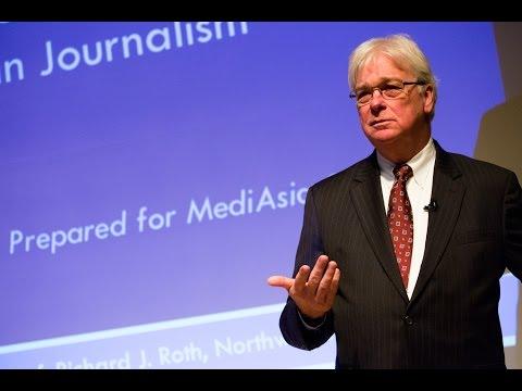 IAFOR Media Conferences with Prof Richard Roth, Northwestern University