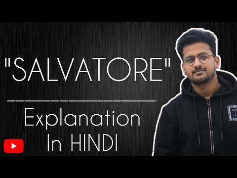 Salvatore||Best Hindi Explanation||William Somerset Maugham||By Apar Gupta