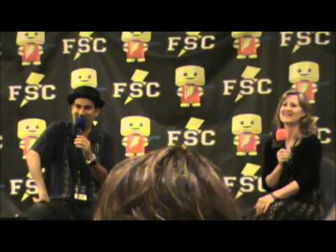 Comic-con Day3: Eric Stuart & Veronica Taylor Q&A panel