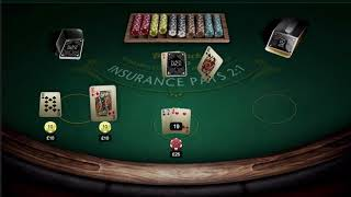 3d blackjack game preview