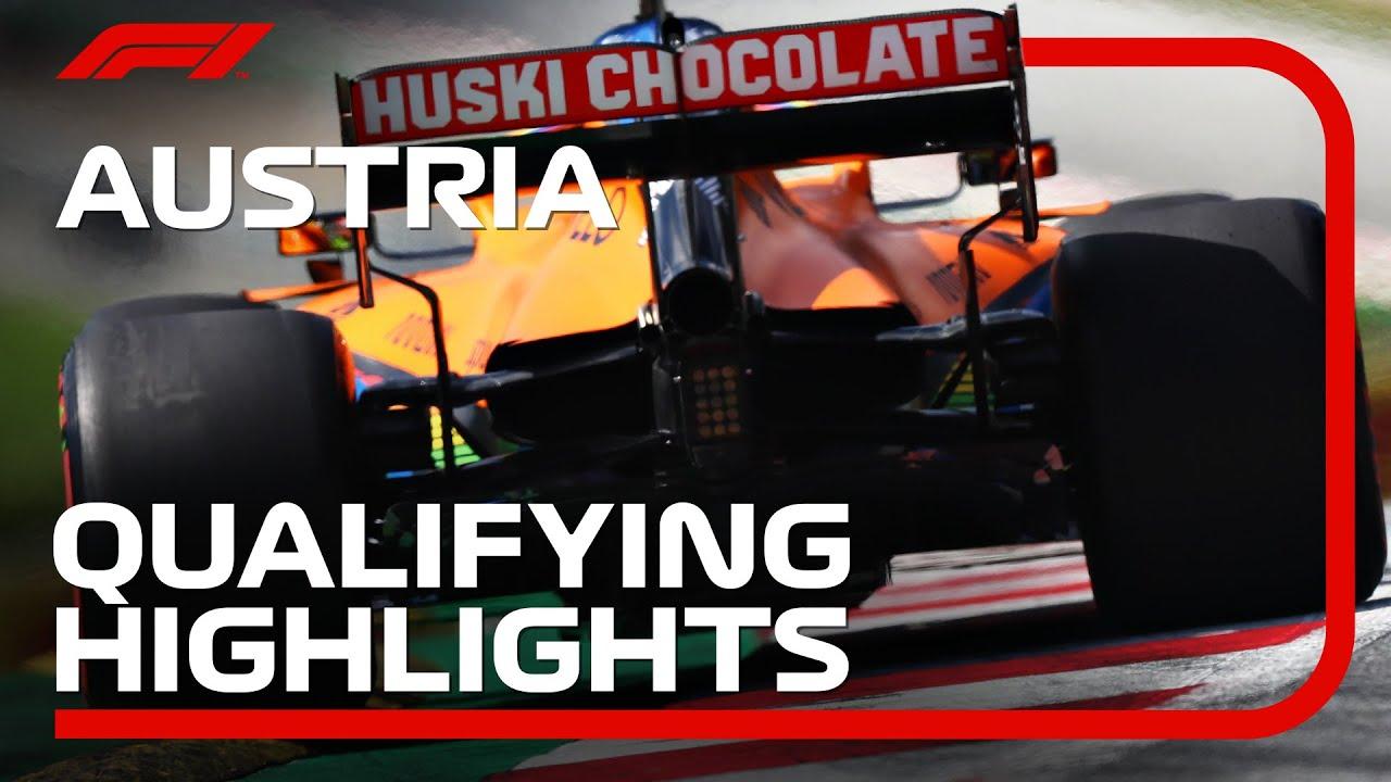 2020 Austrian Grand Prix Qualifying Highlights Youtube