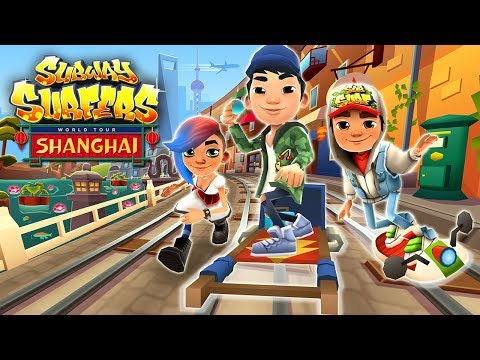 Subway Surfers Shanghai Android Gameplay HD #4
