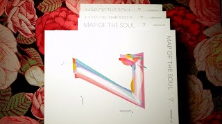 "Baixar распаковка / обзор / unboxing BTS (방탄소년단) ""MAP OF THE SOUL: 7"" | 4 versions"