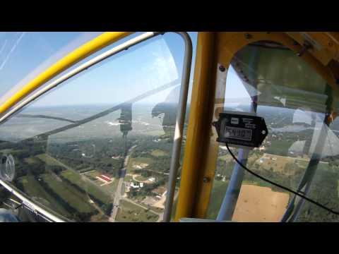CGS Hawk flight over Montello, WI area