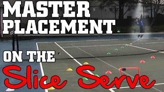 Slice Serve Part 2: Advanced Slice Serve Training...How to master placement on the Slice Serve