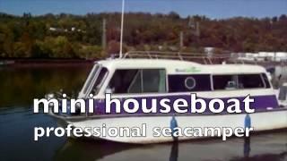ASTAD   mini houseboat - seacamper