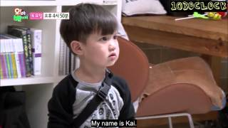 [ENGSUB] 151014 Oh My Baby Taeoh & Kai preview 2