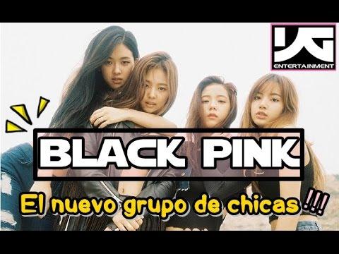 ¡Nuevo grupo de chicas BLACK PINK! (#YG Entertainment) 블랙핑크