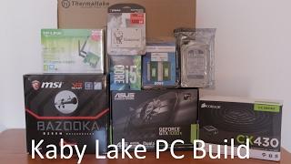 900 aud kaby lake pc build i5 7500 gtx 1050ti