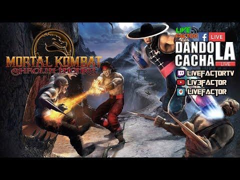 #DandoLaCachaLive - Cocholate por doquier #MortalKombatShaolinMonks #PS2 #Playstation2 + Concurso!