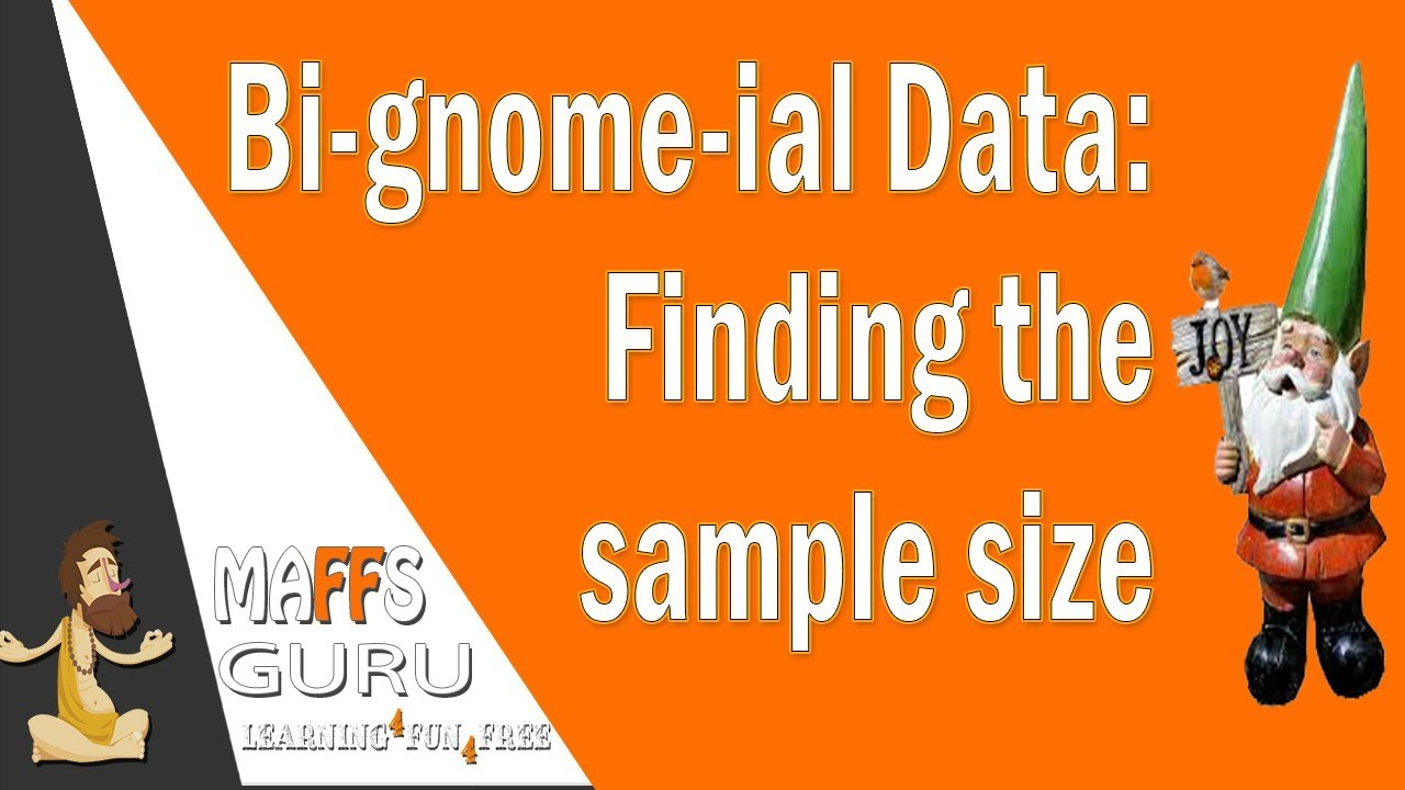 Finding the sample size of a Binomial Distribution  | Methods 3 and 4 | MaffsGuru