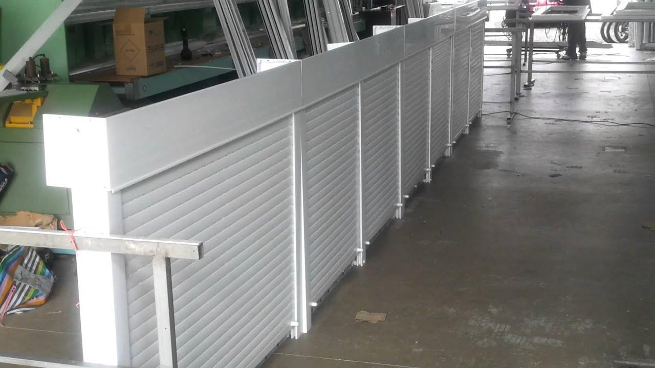 #4B6149 Esquadrias de PVC com Persiana Automatizada   1728 Janela De Aluminio No Es