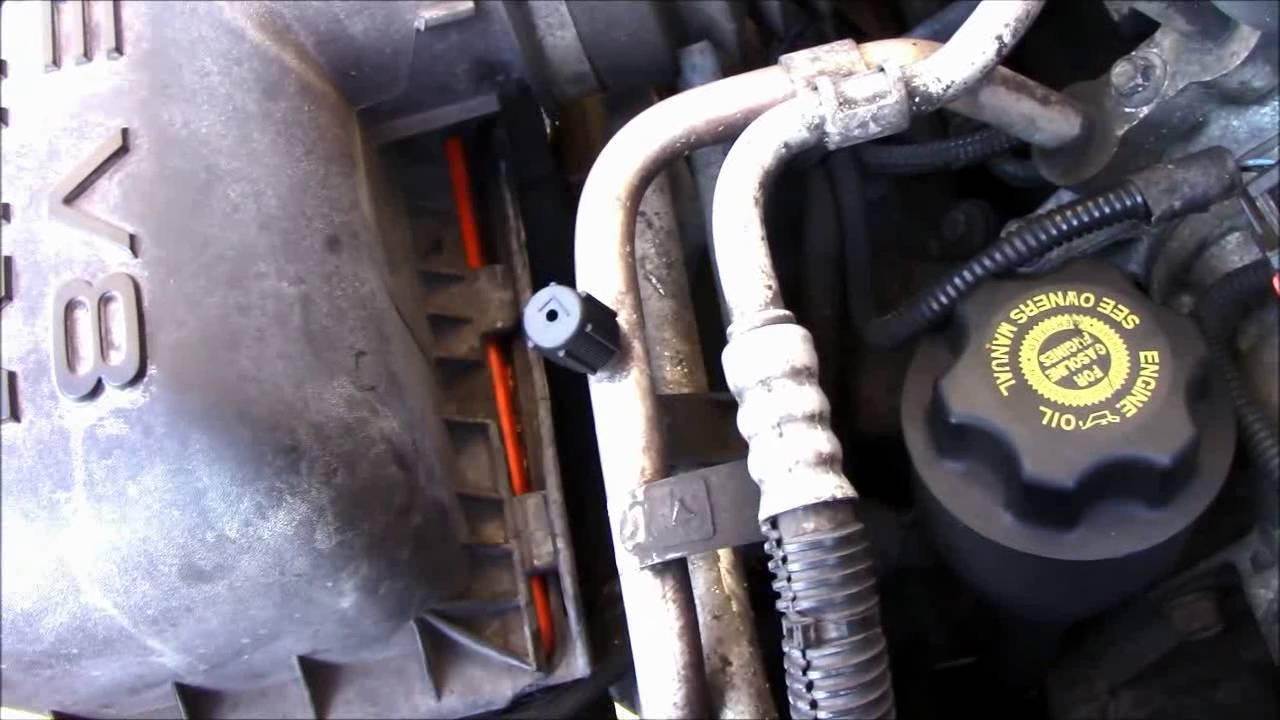 2002 Dodge Durango Pcv Valve Youtube