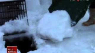 Cum trec japonezii prin iernile grele