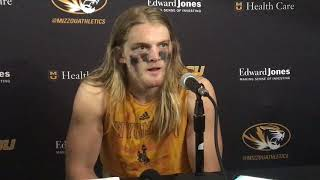 Andrew Wingard discusses Wyoming's loss at Missouri