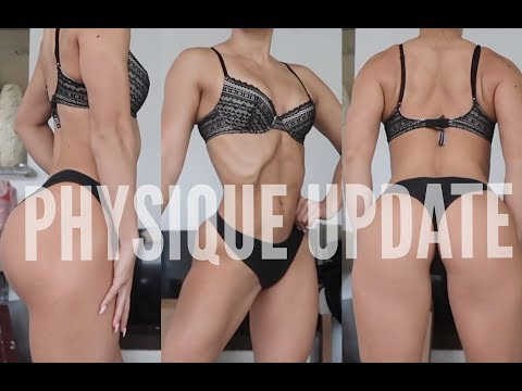 PHYSIQUE UPDATE | BACK & BICEP WORKOUT | Bikini prep #57