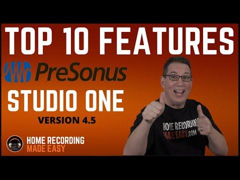 Presonus Studio One Version 4.5 | My 10 Favorite New Features